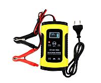 Зарядное устройство для автомобильного аккумулятора Foxsur 12V 5-6A, фото 1