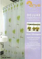 Шторка для ванной Arya 180x180 Palm Tree