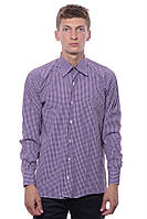 Рубашка Мужской 95 % хлопок, 5% полиэстер тёмно-серый DECK все размеры  L