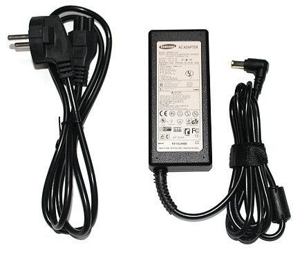 Блок питания для мониторов Samsung 14V 1.7A (6.5*4.4) + сетевой кабель