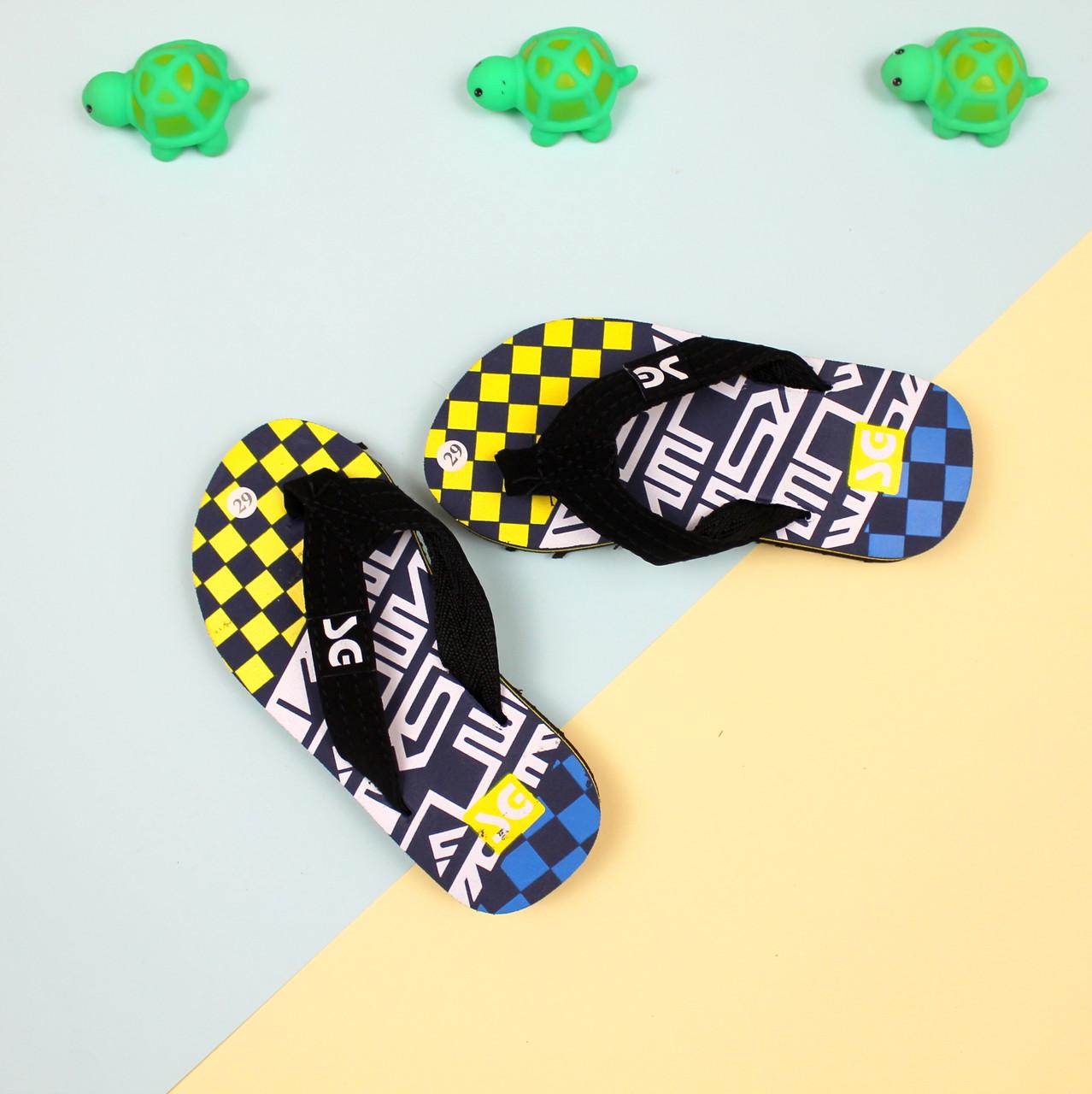 Вьетнамки на мальчика пляжная обувь тм Super Gear р.28,29,30,31,32