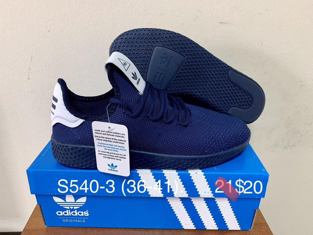 Подростковые кроссовки Adidas HU оптом (36-41)