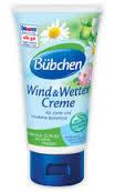 Защитный крем при ветре и непогоде Bubchen, 75 мл бюбхен