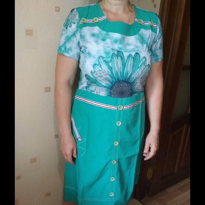 Платье женское размер 50,52,54, фото 1