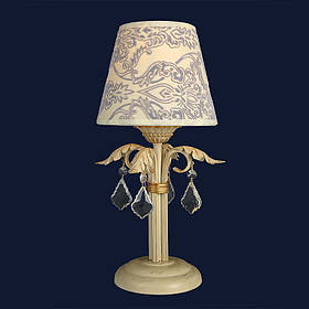 Настольная лампа «Юфрозина 1» LS-12095T-1 CRM+GLD