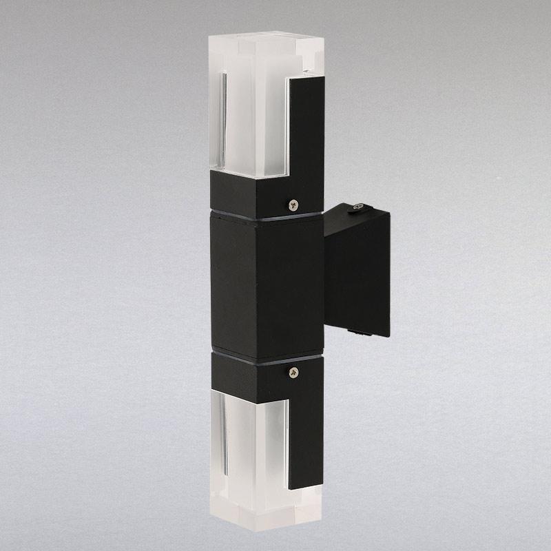 Светильник уличный настенный LS-13260-WL-2 BK LED 6 W черный