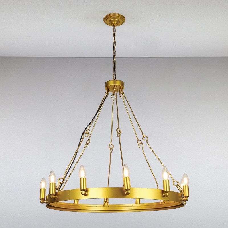 Люстра LS-13337-12 GD золото