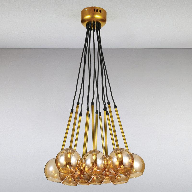Люстра LS-13350-12 GD  золото