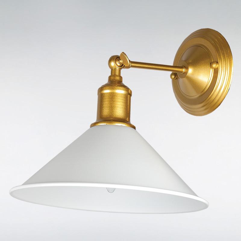 Бра LS-13439-1GD+ WH  золото