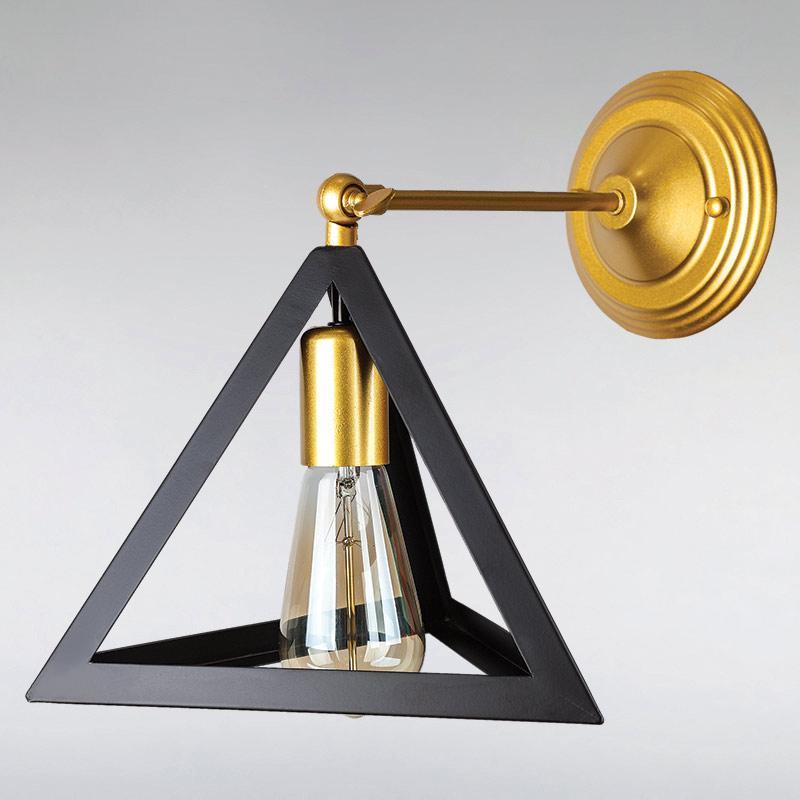 Бра LS-13446-1 GD+BK  золото