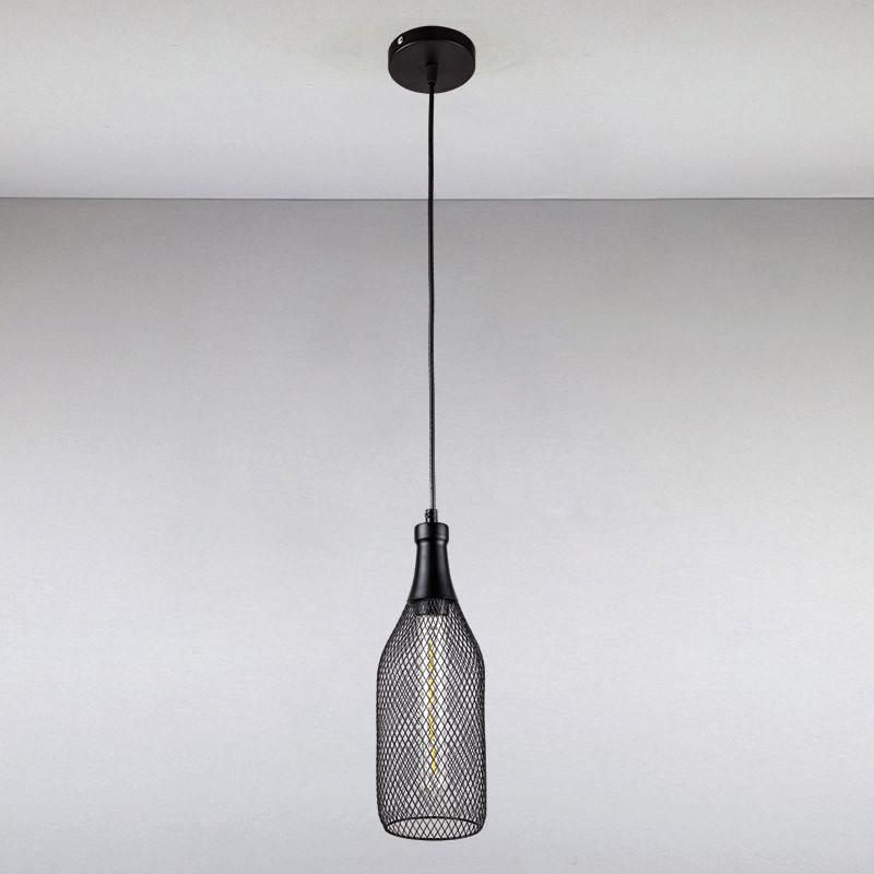 Люстра  LS-13457-1 BK  черная