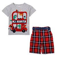 Костюм детский летний для мальчика с шортами