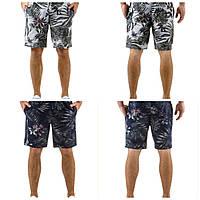 Мужские шорты с тропическим принтом Тренд сезона