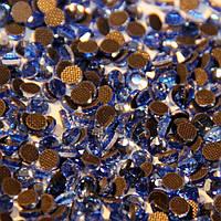 Стразы DMCss10 Light Sapphire (2,7-2,8мм)горячей фиксации. 500gross/72.000шт.