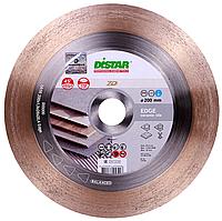 Круг алмазный Distar 1A1R Edge 200 мм сплошной диск для чистого реза керамогранита под 45 (11120421015)