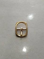 Пряжка взуттєва сандальная 12мм золото