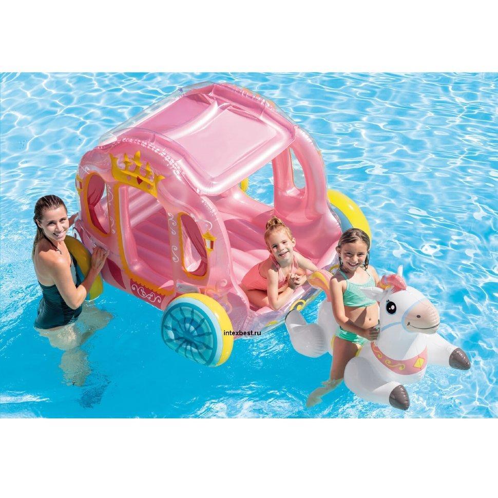 Игровой центр Intex 56514 Карета принцессы