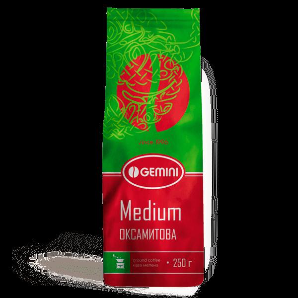 Мелена кава Gemini Medium 250 грам Україна