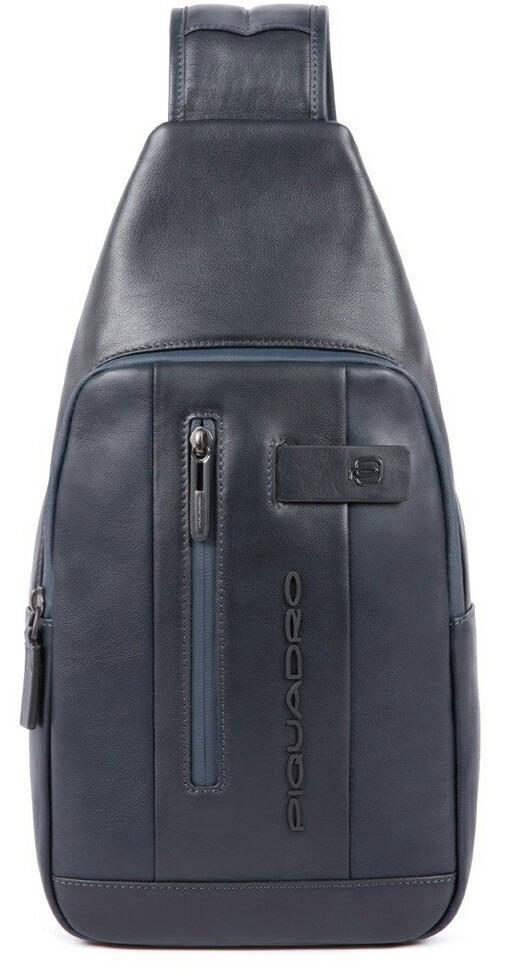 Кожаный рюкзак Piquadro CA4536UB00_BLU, синий, 5л