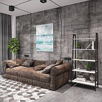Стеллаж прямой Призма 5 полок серия Loft ТМ Металл-Дизайн, фото 1