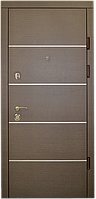 Двери квартирные, модель Ультра, Премиум, коробка 110 мм, MOTTURA, накладки 16 мм, глухие