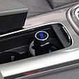 ФМ модулятор (FM + Bluetooth + AUX out + Громкая связь + USB + microSD + Вольтметр), фото 4