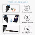 ФМ модулятор (FM + Bluetooth + AUX out + Громкая связь + USB + microSD + Вольтметр), фото 7