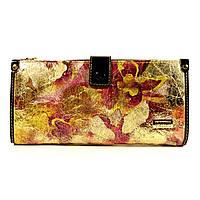 Кошелек женский кожаный Velina Fabbiano 1051 - с лазерным накатом, расцветки в наличии