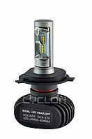 Лампы LED H4, Диоды , 4000Lm 5000K. Гарантия 12 мес. Type 9A