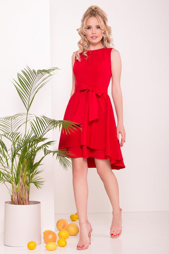 Фото Асимметричного летнего женского платья Нимфа