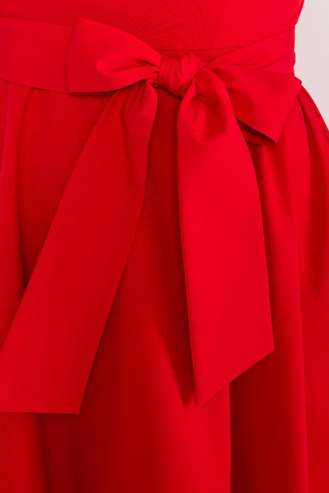 Фото-1 Асимметричного летнего женского платья Нимфа