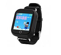 Умные детские часы Wonlex Q100s Smart baby watch черные