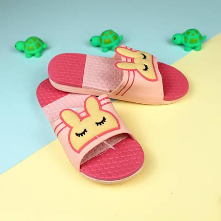 Пляжная обувь шлепки для девочки Зайка тм Giolan р.31,32, фото 2