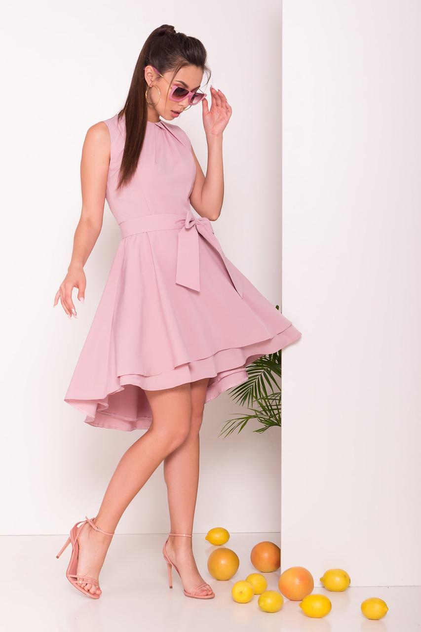 Асимметричное летнее женское платье Нимфа-1
