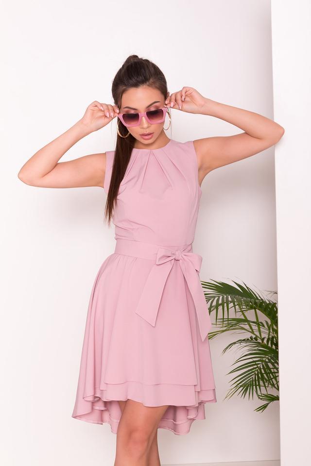 Фото Асимметричного летнего женского платья Нимфа-1