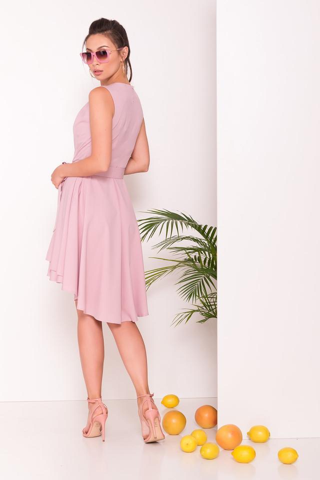 Фото-1 Асимметричного летнего женского платья Нимфа-1