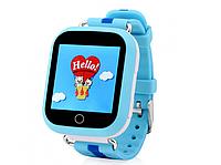 Умные детские часы Wonlex Q100s Smart baby watch синий