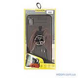 Чохол TPU Deen ColorRing з кріпленням під магнітний тримач Samsung A10 black, фото 5