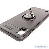 Чохол TPU Deen ColorRing з кріпленням під магнітний тримач Samsung A10 black, фото 8