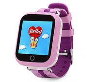Умные детские часы Wonlex Q100s Smart baby watch розовые
