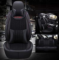 Модельные чехлы Abang на передние и задние сиденья автомобиля Nissan X-Trail 2 поколение T31 2007 - 2014 + подушка