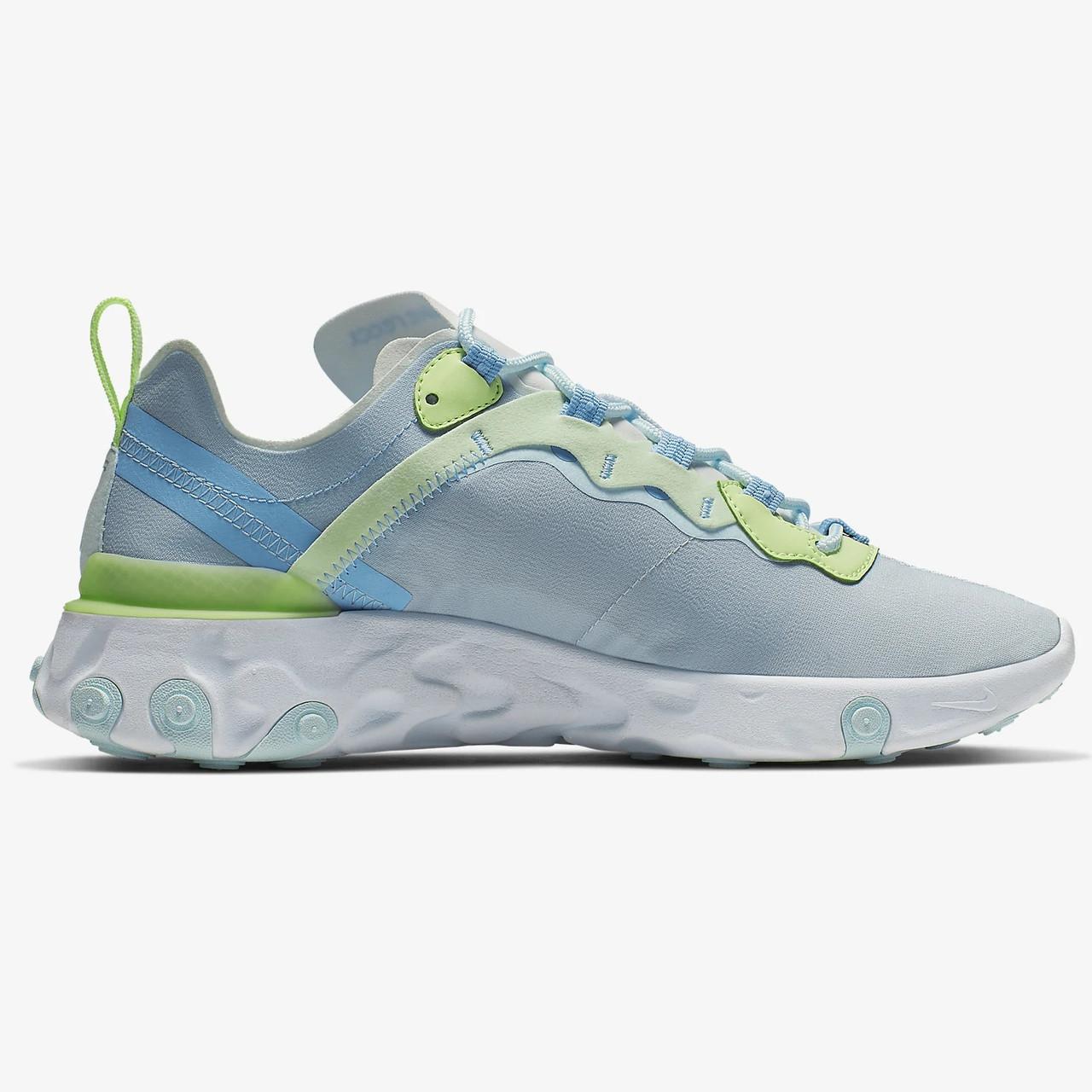 Оригинальные кроссовки (кеды) Nike React Element 55 женские 35.5