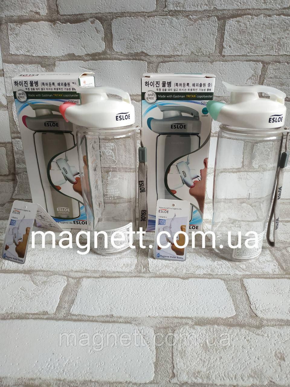 Бесконтактная бутылка для воды «ESLOE» 500 мл