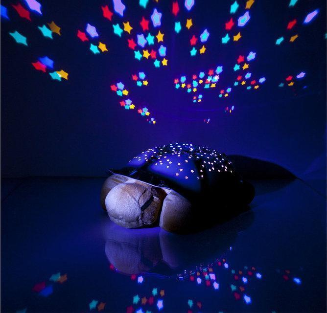 Музыкальный проектор звездного неба черепаха