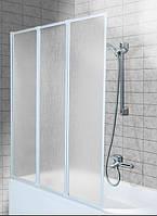 Шторка для ванны Aquaform Standard 3 профиль белый полистирол 170-04010