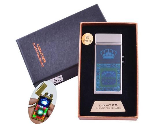 Зажигалка в подарочной коробке Casino (Двойная молния), фото 2