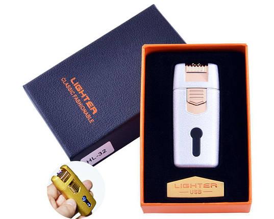 Зажигалка в подарочной коробке Lighter (Двойная молния), фото 2