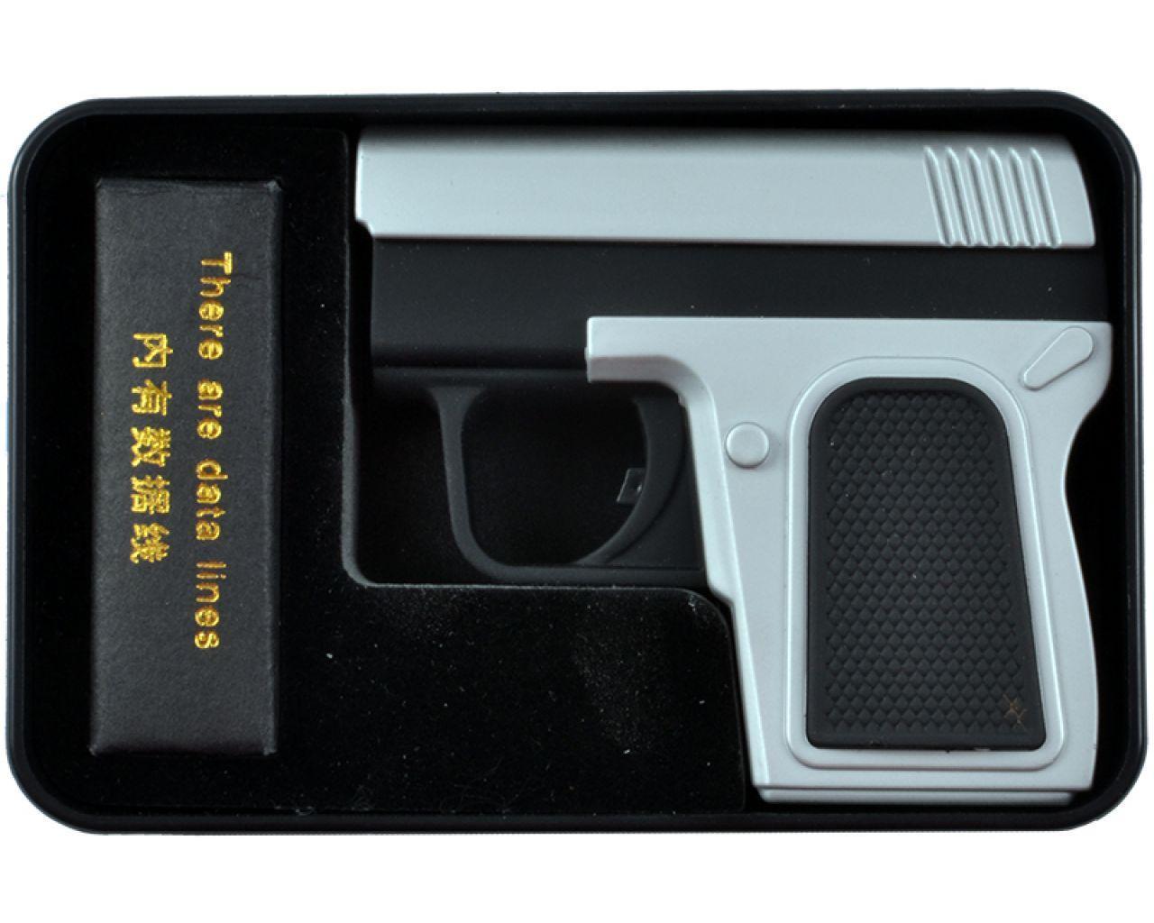 Электроимпульсная USB зажигалка пистолет