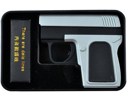 Электроимпульсная USB зажигалка пистолет , фото 2