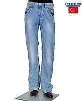 Подростковые летние джинсы,